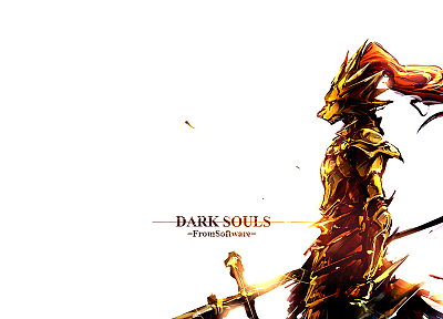 video games, Dark Souls, Ornstein - related desktop wallpaper