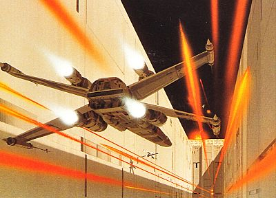 Star Wars, X-Wing, Ralph McQuarrie - related desktop wallpaper
