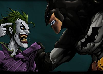 Batman, The Joker - random desktop wallpaper