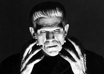 Frankenstein, boris karloff, horror movies - random desktop wallpaper