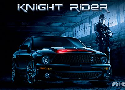 vehicles, Ford Mustang, TV series, Knight Rider - random desktop wallpaper