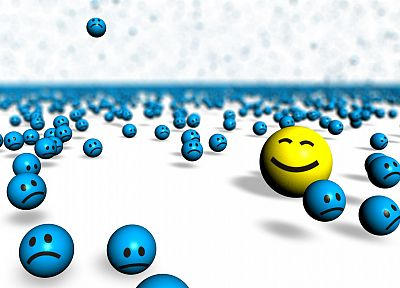 smiley face - random desktop wallpaper