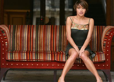 women, dress, Emma De Caunes - random desktop wallpaper