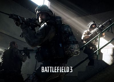 video games, guns, eotech, Battlefield 3, Electronic Arts - random desktop wallpaper