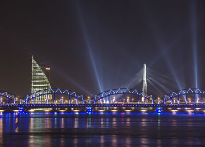 bridges, Latvia, riga, daugava - random desktop wallpaper