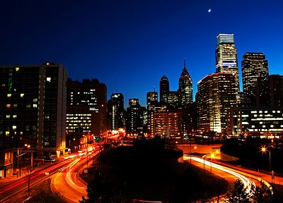 cityscapes, skylines, Philadelphia - random desktop wallpaper