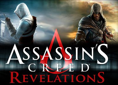 video games, Assassins Creed, Altair Ibn La Ahad, Assassins Creed Revelations, Ezio Auditore da Firenze - related desktop wallpaper