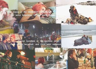 Kate Winslet, Jim Carrey, Eternal Sunshine of the Spotless Mind - random desktop wallpaper