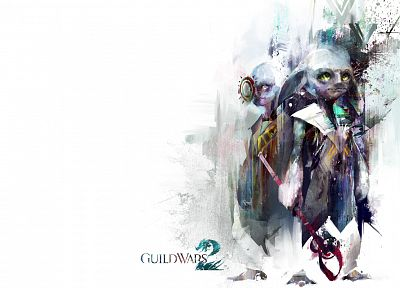 video games, Guild Wars, fantasy art, artwork - desktop wallpaper