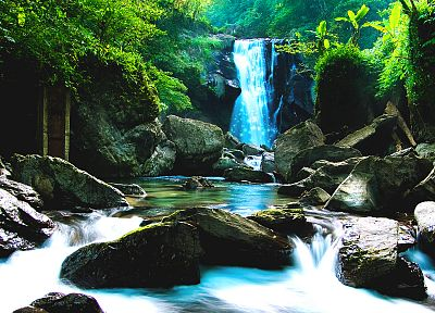 landscapes, nature, waterfalls - random desktop wallpaper