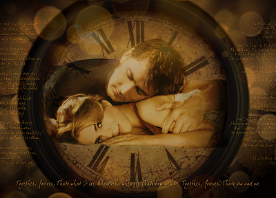 text, Rose Tyler, David Tennant, clocks, Billie Piper, Doctor Who, Tenth Doctor - desktop wallpaper