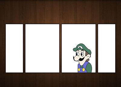 Luigi, weegee - random desktop wallpaper