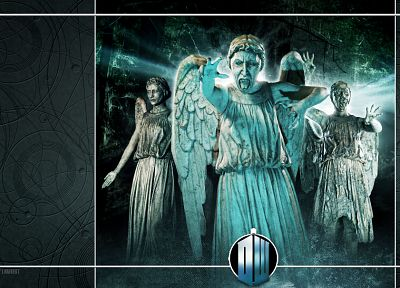 Doctor Who, weeping angel - related desktop wallpaper
