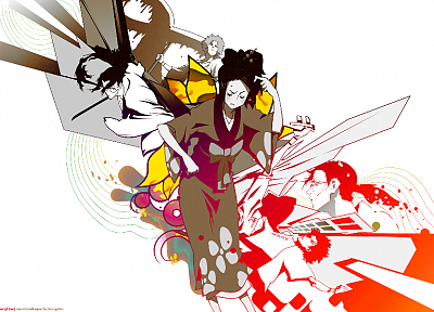 Samurai Champloo, Fuu Kasumi, kimono, anime, Japanese clothes - related desktop wallpaper