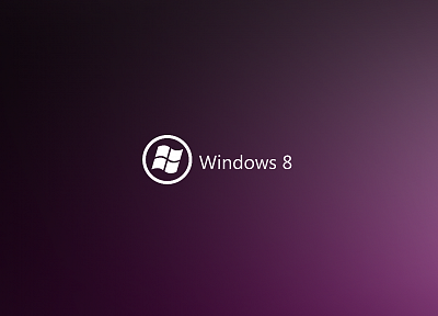 minimalistic, purple, DeviantART, Windows 8 - related desktop wallpaper