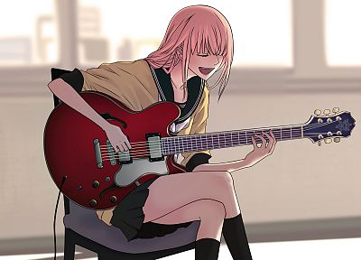 Vocaloid, school uniforms, Megurine Luka - random desktop wallpaper