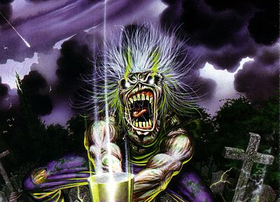 Iron Maiden, Eddie the Head - random desktop wallpaper