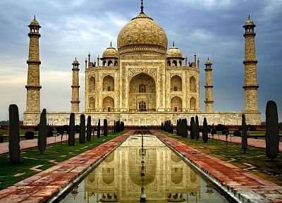India, Taj Mahal, Persian, palace - random desktop wallpaper