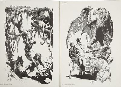 Frank Frazetta - desktop wallpaper