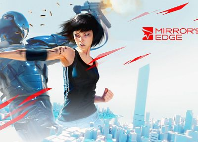 video games, Mirrors Edge - random desktop wallpaper