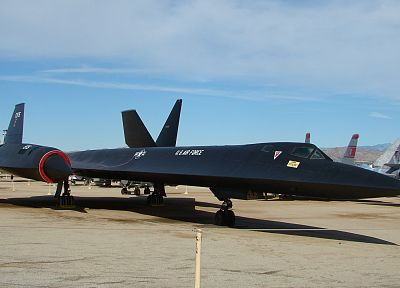 aircraft, Blackbird, SR-71 Blackbird - related desktop wallpaper