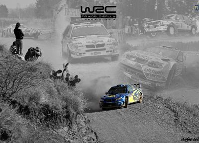 Subaru Impreza WRC, racing - random desktop wallpaper