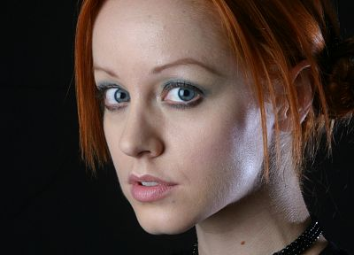 blue eyes, redheads, Lindy Booth - random desktop wallpaper
