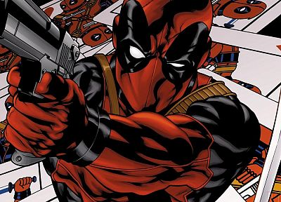 comics, Deadpool Wade Wilson - random desktop wallpaper