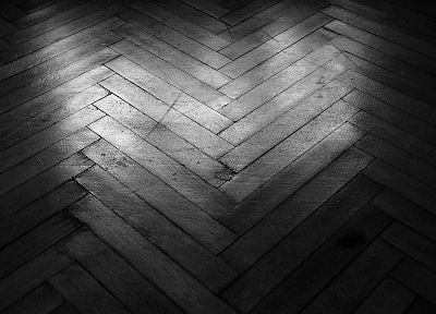 floor, wood, surface, grayscale, monochrome, wood floor - desktop wallpaper