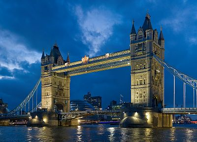 architecture, Wonderland, Tower Bridge, artwork - desktop wallpaper