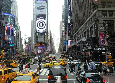 New York City, Times Square - related desktop wallpaper
