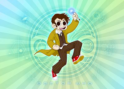 DeviantART, Scott Pilgrim, Doctor Who, crossovers - desktop wallpaper