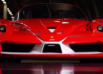 cars, Ferrari, vehicles, supercars, Ferrari FXX - desktop wallpaper