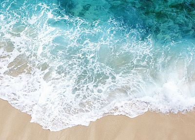 water, sand, shore, beaches - desktop wallpaper