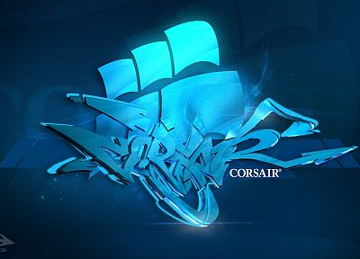 corsair, corsair logo - random desktop wallpaper