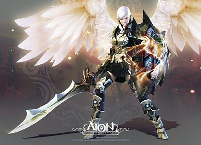 video games, Aion - related desktop wallpaper