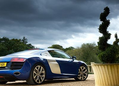cars, vehicles, Audi R8 - random desktop wallpaper
