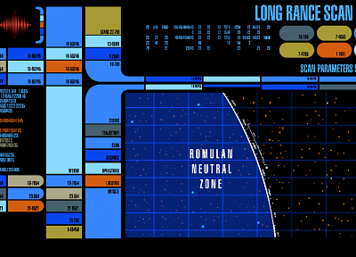 Star Trek, Star Trek The Next Generation, LCARS - desktop wallpaper
