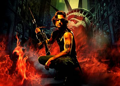 movies, Kurt Russell, Escape From New York - random desktop wallpaper
