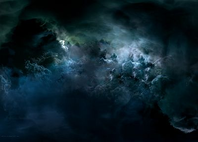 abstract, EVE Online, darkness, skyscapes - random desktop wallpaper