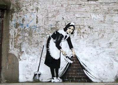 Banksy - random desktop wallpaper