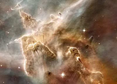 outer space, Carina nebula - random desktop wallpaper