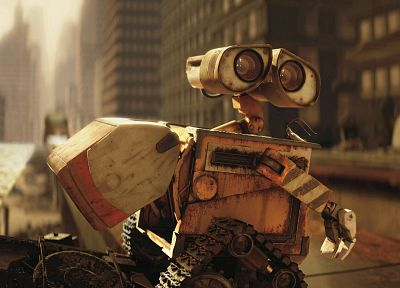 Pixar, robots, Wall-E - random desktop wallpaper