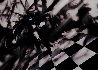 Black Rock Shooter - random desktop wallpaper
