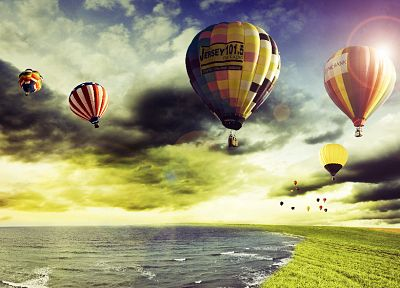 hot air balloons - random desktop wallpaper