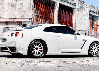 cars, Nissan GT-R - random desktop wallpaper