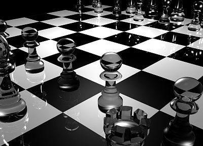 chess - random desktop wallpaper