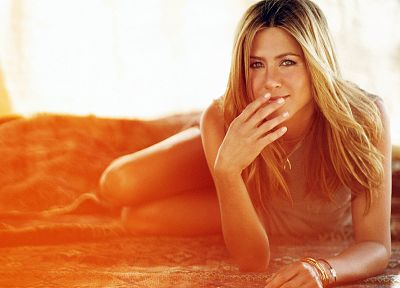 blondes, women, Jennifer Aniston - random desktop wallpaper