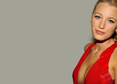 blondes, women, Blake Lively - desktop wallpaper