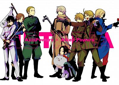Japan, England, China, Germany, Russia, France, USA, Italy, anime, Axis Powers Hetalia - random desktop wallpaper